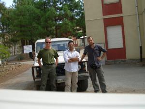 Furtei. Marco,Sandro e Christian